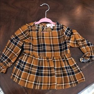 GB girls 2T flannel too